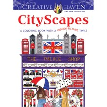 Creative Haven CityScapes Coloring Book